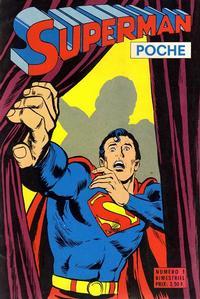 Cover Thumbnail for Superman Poche (Sage - Sagédition, 1976 series) #1