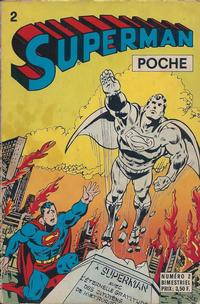 Cover Thumbnail for Superman Poche (Sage - Sagédition, 1976 series) #2