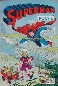 Cover Thumbnail for Superman Poche (Sage - Sagédition, 1976 series) #3