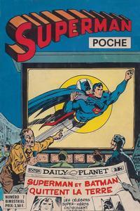 Cover Thumbnail for Superman Poche (Sage - Sagédition, 1976 series) #7