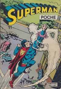 Cover Thumbnail for Superman Poche (Sage - Sagédition, 1976 series) #11