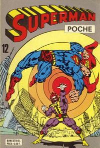 Cover Thumbnail for Superman Poche (Sage - Sagédition, 1976 series) #12