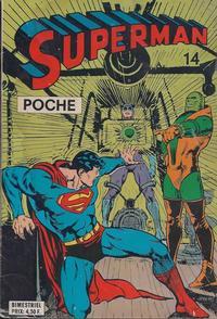 Cover Thumbnail for Superman Poche (Sage - Sagédition, 1976 series) #14