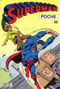Cover Thumbnail for Superman Poche (Sage - Sagédition, 1976 series) #16