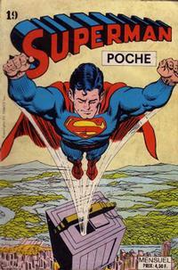 Cover Thumbnail for Superman Poche (Sage - Sagédition, 1976 series) #19