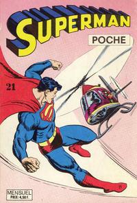 Cover Thumbnail for Superman Poche (Sage - Sagédition, 1976 series) #21