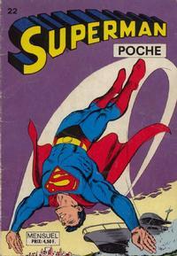 Cover Thumbnail for Superman Poche (Sage - Sagédition, 1976 series) #22