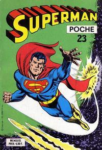 Cover Thumbnail for Superman Poche (Sage - Sagédition, 1976 series) #23