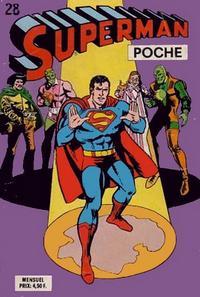 Cover Thumbnail for Superman Poche (Sage - Sagédition, 1976 series) #28