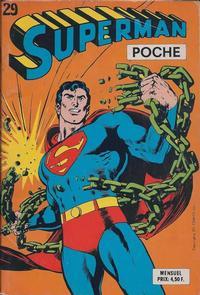 Cover Thumbnail for Superman Poche (Sage - Sagédition, 1976 series) #29