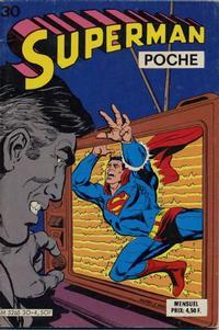 Cover Thumbnail for Superman Poche (Sage - Sagédition, 1976 series) #30