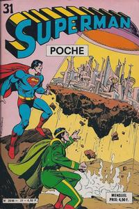 Cover Thumbnail for Superman Poche (Sage - Sagédition, 1976 series) #31