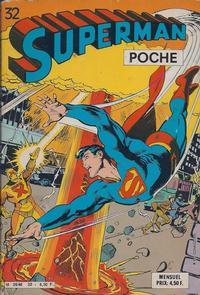 Cover Thumbnail for Superman Poche (Sage - Sagédition, 1976 series) #32