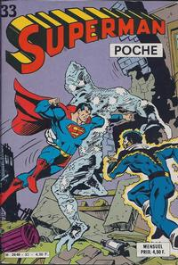 Cover Thumbnail for Superman Poche (Sage - Sagédition, 1976 series) #33