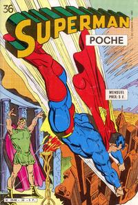 Cover Thumbnail for Superman Poche (Sage - Sagédition, 1976 series) #36