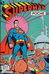Cover Thumbnail for Superman Poche (Sage - Sagédition, 1976 series) #42