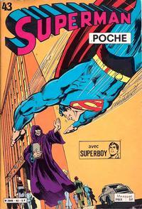 Cover Thumbnail for Superman Poche (Sage - Sagédition, 1976 series) #43