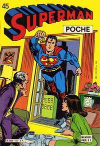 Cover Thumbnail for Superman Poche (Sage - Sagédition, 1976 series) #45