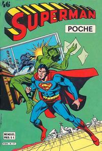 Cover for Superman Poche (Sage - Sagédition, 1976 series) #46