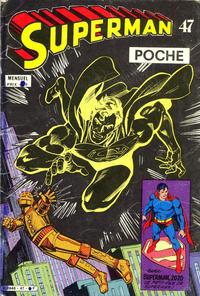 Cover Thumbnail for Superman Poche (Sage - Sagédition, 1976 series) #47