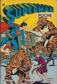 Cover Thumbnail for Superman Poche (Sage - Sagédition, 1976 series) #48