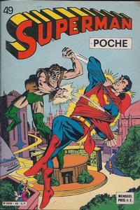 Cover Thumbnail for Superman Poche (Sage - Sagédition, 1976 series) #49