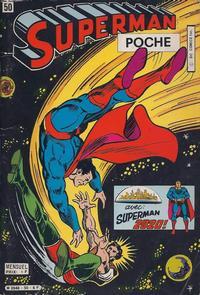 Cover Thumbnail for Superman Poche (Sage - Sagédition, 1976 series) #50