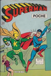 Cover Thumbnail for Superman Poche (Sage - Sagédition, 1976 series) #55