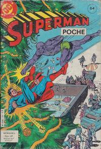 Cover Thumbnail for Superman Poche (Sage - Sagédition, 1976 series) #64