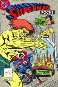 Cover Thumbnail for Superman Poche (Sage - Sagédition, 1976 series) #66
