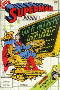 Cover Thumbnail for Superman Poche (Sage - Sagédition, 1976 series) #82