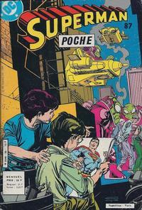 Cover Thumbnail for Superman Poche (Sage - Sagédition, 1976 series) #87
