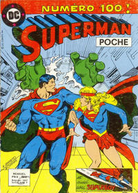 Cover Thumbnail for Superman Poche (Sage - Sagédition, 1976 series) #100