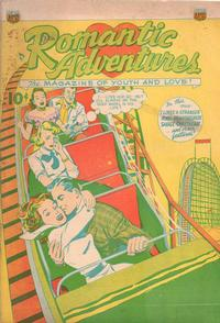 Cover Thumbnail for Romantic Adventures (Export Publishing, 1950 series) #1