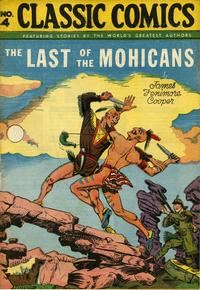 Cover Thumbnail for Classic Comics (Gilberton, 1941 series) #4 - The Last of the Mohicans [HRN 20]