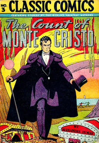 Cover Thumbnail for Classic Comics (Gilberton, 1941 series) #3 - The Count of Monte Cristo [HRN 28]