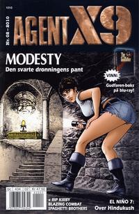 Cover Thumbnail for Agent X9 (Hjemmet / Egmont, 1998 series) #2/2010