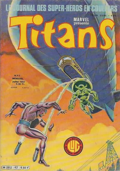 Cover for Titans (Editions Lug, 1976 series) #42