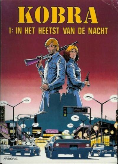 Cover for Kobra (Arboris, 1992 series) #1 - In het heetst van de nacht