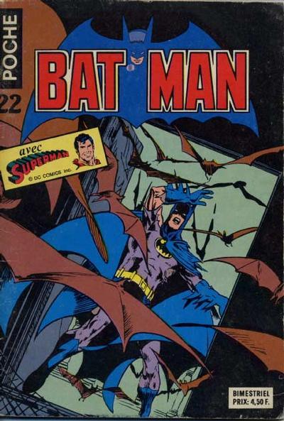Cover for Batman Poche (Sage - Sagédition, 1976 series) #22