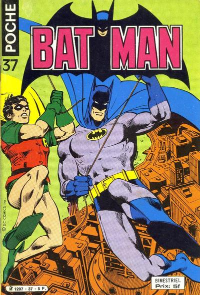Cover for Batman Poche (Sage - Sagédition, 1976 series) #37