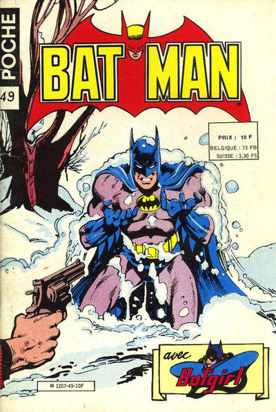 Cover for Batman Poche (Sage - Sagédition, 1976 series) #49