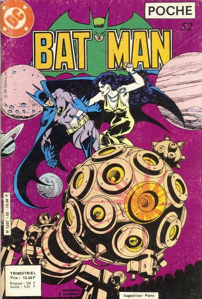 Cover for Batman Poche (Sage - Sagédition, 1976 series) #52
