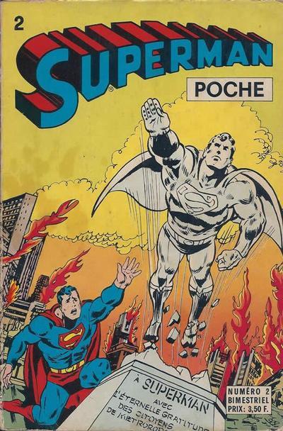 Cover for Superman Poche (Sage - Sagédition, 1976 series) #2