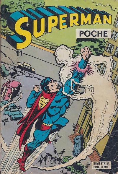 Cover for Superman Poche (Sage - Sagédition, 1976 series) #11