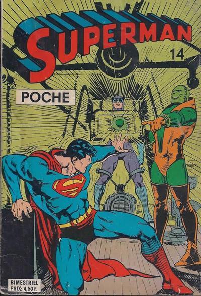Cover for Superman Poche (Sage - Sagédition, 1976 series) #14