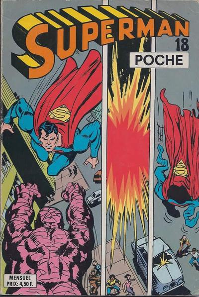 Cover for Superman Poche (Sage - Sagédition, 1976 series) #18