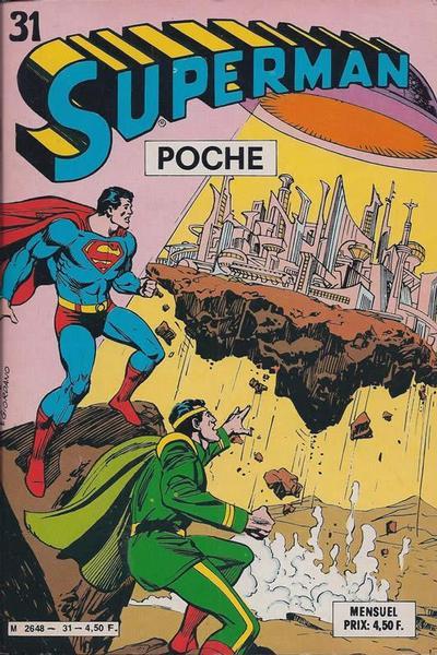 Cover for Superman Poche (Sage - Sagédition, 1976 series) #31