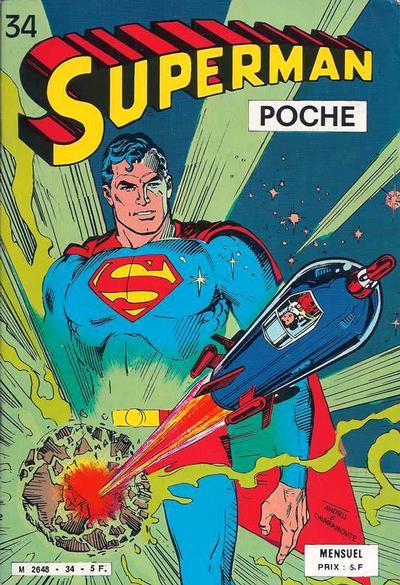 Cover for Superman Poche (Sage - Sagédition, 1976 series) #34