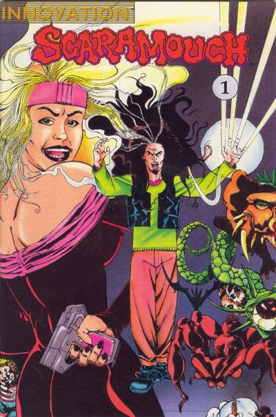 Cover for Scaramouch (Innovation, 1990 series) #1